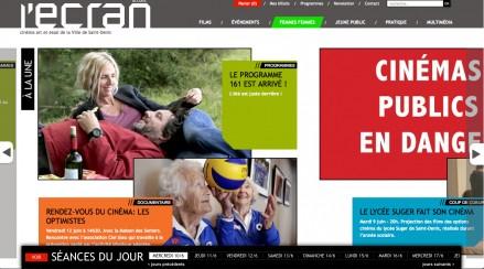 écran saint denis site web